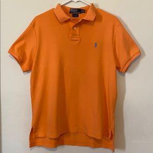 POLO RALPH LAUREN Creamsicle Orange Polo Shirt